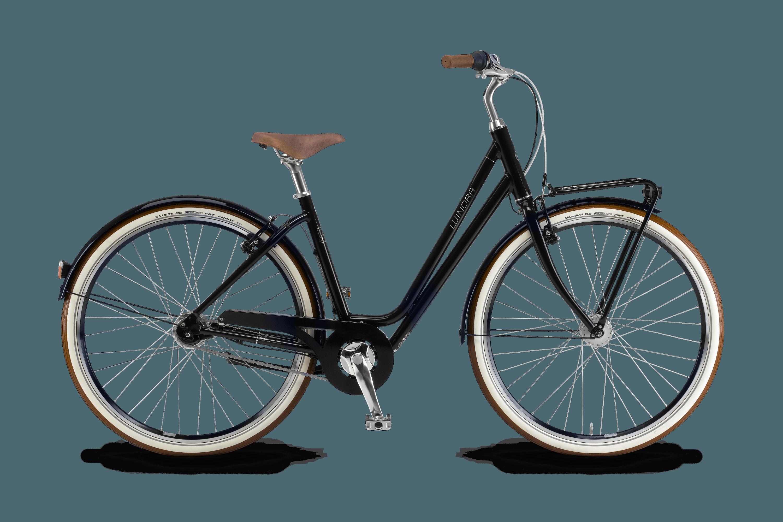 fahrrad comfort schwarz